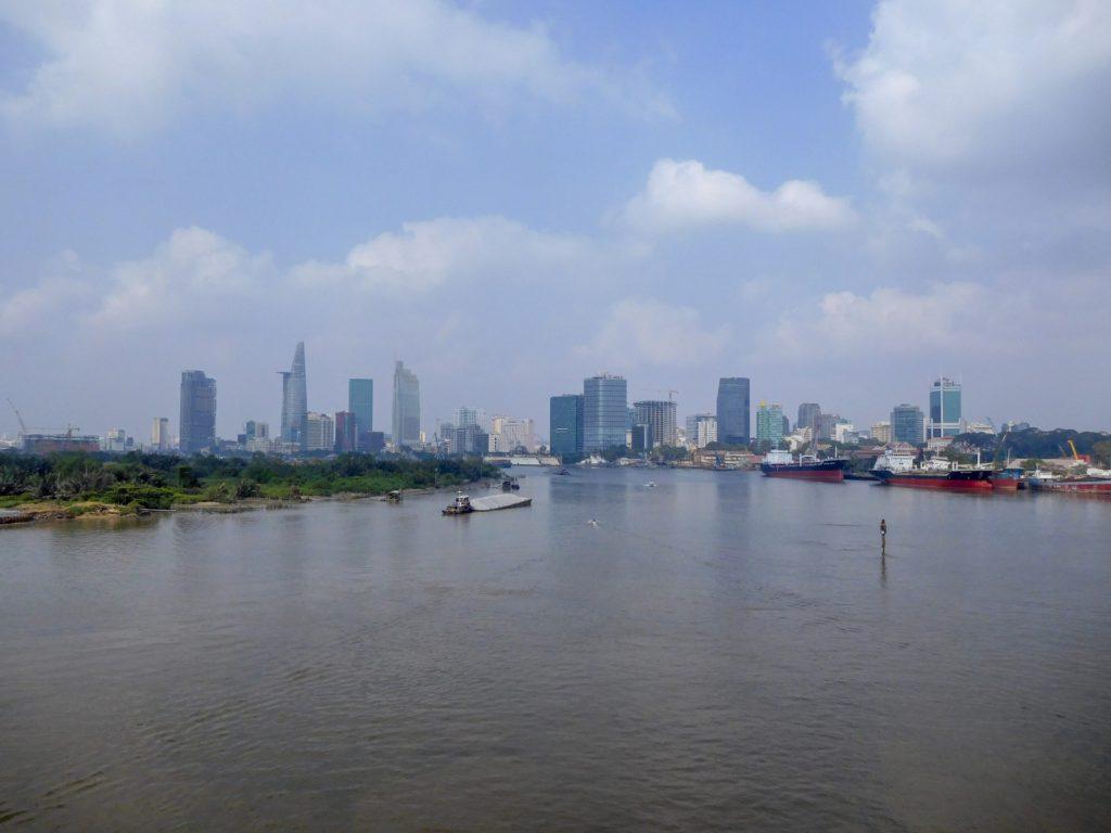 ベトナム・ホーチミン市の風景