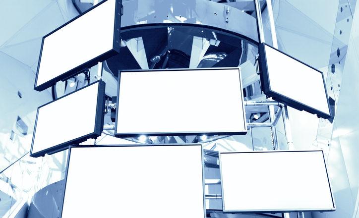 液晶ディスプレイの貼合事業イメージ写真