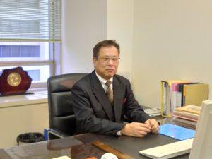 朴木剛社長(茶谷産業株式会社)